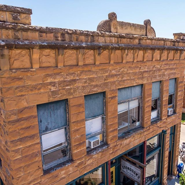 A telling 'BEFORE' shot from this 1800s historic property in downtown Spearfish, South Dakota. Look for a major update to the second floor windows featuring @andersen_windows coming soon! . . #windows #newwindows #remodel #renovation #beforeandafter #windowgoals #homegoals #homeimprovement #diy #lovehome #energyefficiency #energyefficient #buildersfirstsource #bfsbuilt #spearfish #bfsspearfish #blackhills #southdakota