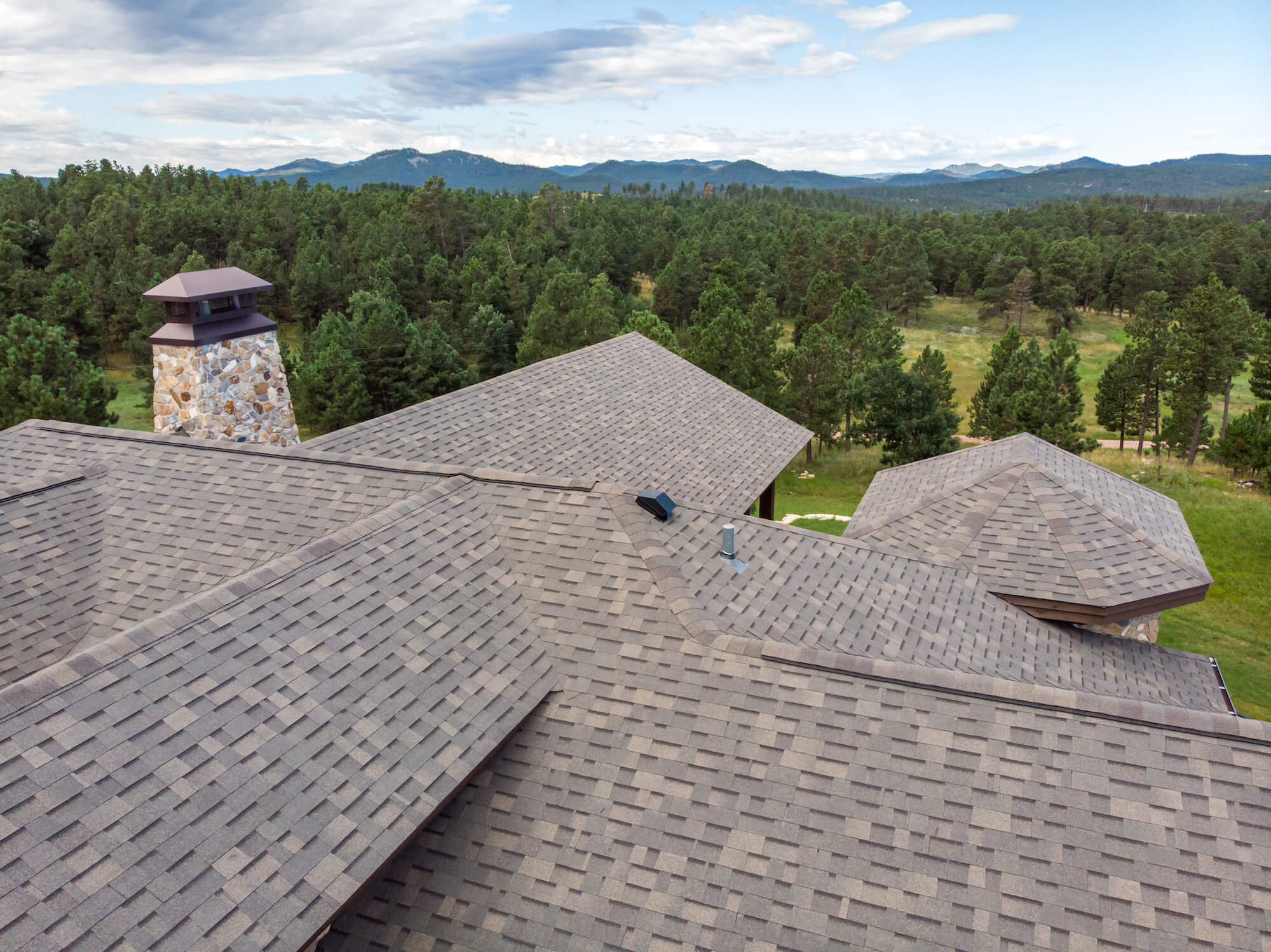 New Roof On A Stunning Black Hills Home By Diamond Roofing
