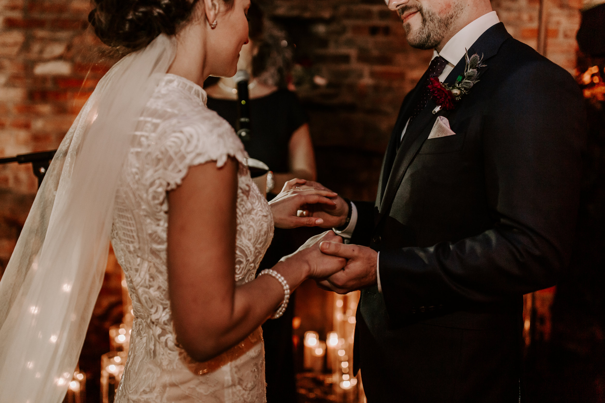 Téo + Ana - Outdoor Candlelit Winter Wedding | Chicago, IL