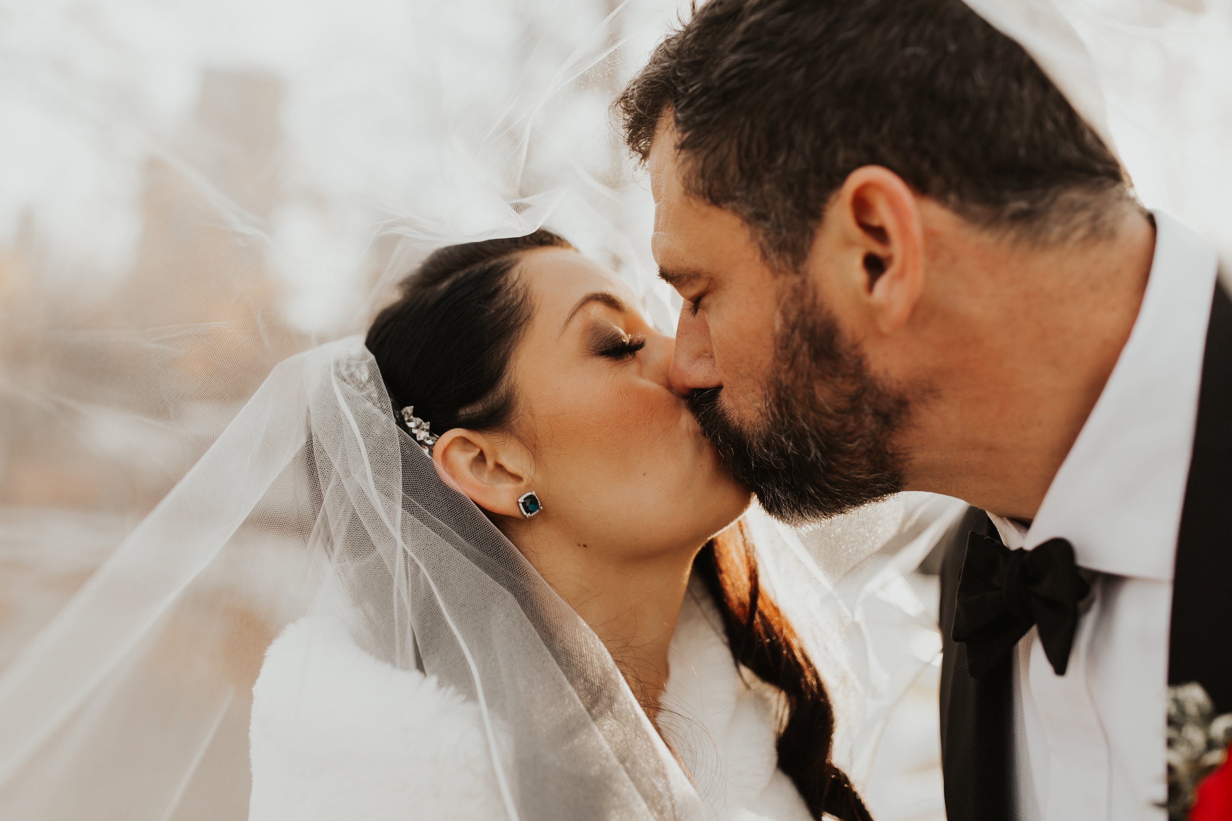 Brian + Natalie - Intimate Ceremony in Old Town - Chicago