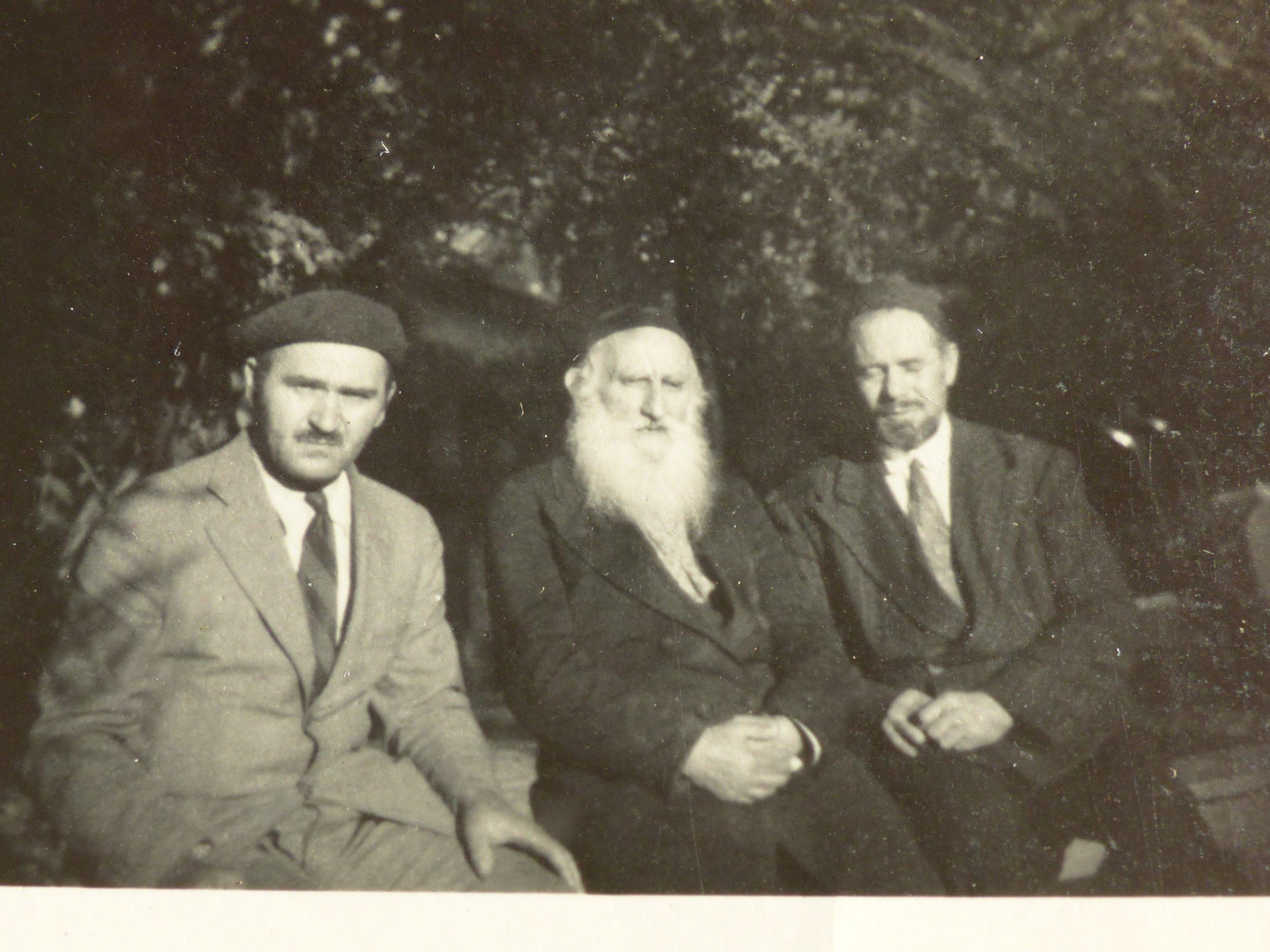 1947 BRANATICH ROUV RAV CHAJKIN RAV ELYOVICS.JPG