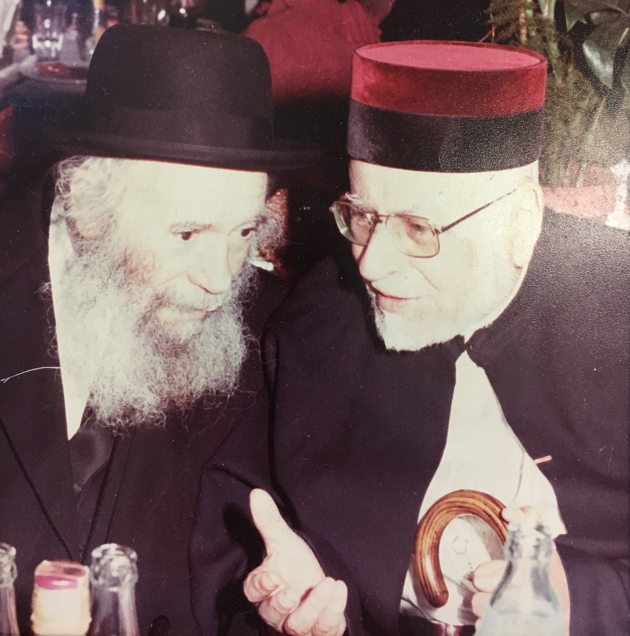 avec le Grand Rabbin du Maroc Le Rav Yididia MONSONEGO.JPG