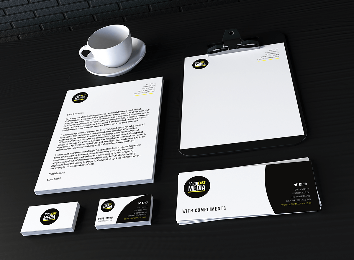 Business Stationery  Well designed stationery will help you make a great first impression. From business cards to letterheads your stationery design should effectively promote your brand, product or service.  Business card design  Letterhead design  Compliments slip design  Corporate stationery