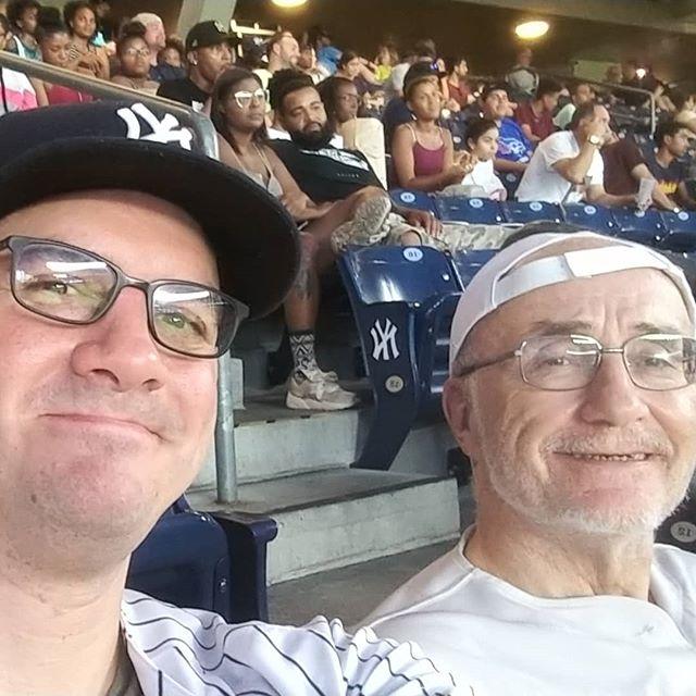 The Yankees may be behind, but I'm still having a ball!