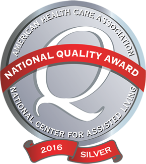 Silver Medal Recipient from the American Healthcare Association – 2016 -