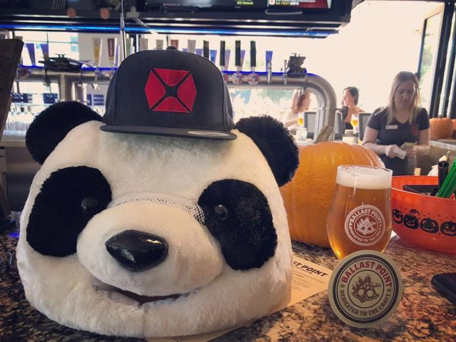 Another day, another beer. The Manta Ray Double IPA at @ballastpointtemecula fails to disappoint! A delicious hoppy classic. Pairs great with pickles!  #beer #pickles #brewery #brewing #brewingequipment #cerveza #brewski #beer #ipa #panda