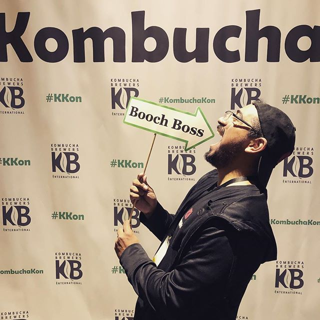 Kombucha Kon 2019  #kombucha #kombuchabrewing #kombuchakon2019 #brewing #tradeshowbooth #conference #glutenfree #vegan #nongmo #boochboss