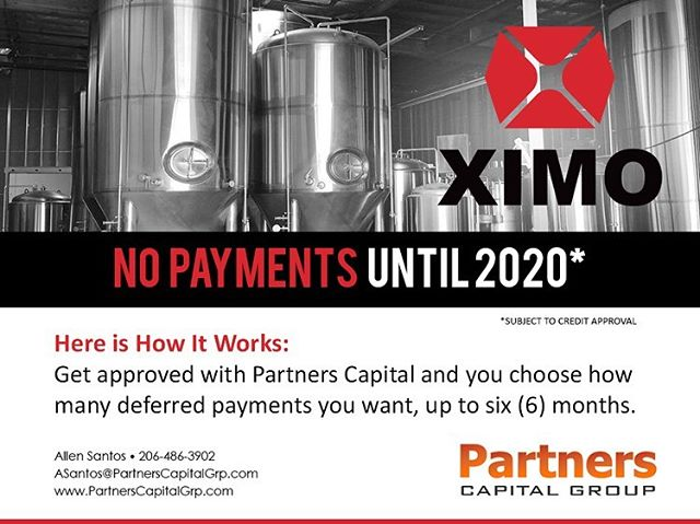 Financing and leasing options available on all tanks and brewing equipment. Doesn't matter if you're a startup or existing brewery! Ask how we can help today. #financing #leasing #brewing #brew #fermenter #brewhouse #beer #tank #vessel #equipment #stainlesssteel #fermentation #brews #brewski #nopayments #money #startup #existing #taxdeduction #sale #business #brewery #winery #meadery #mead #wine #alcohol