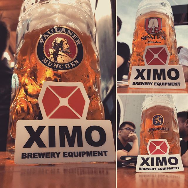 So much amazing beer! Oktoberfest is literally a beer wonderland!  #beer #brews #brewing #beers #drink #drank #head #stein #glass #germany #stuggart #oktoberfest #oktoberfest2019 #europe #german #festival #carnival #party #cerveza #cervezas #brewski