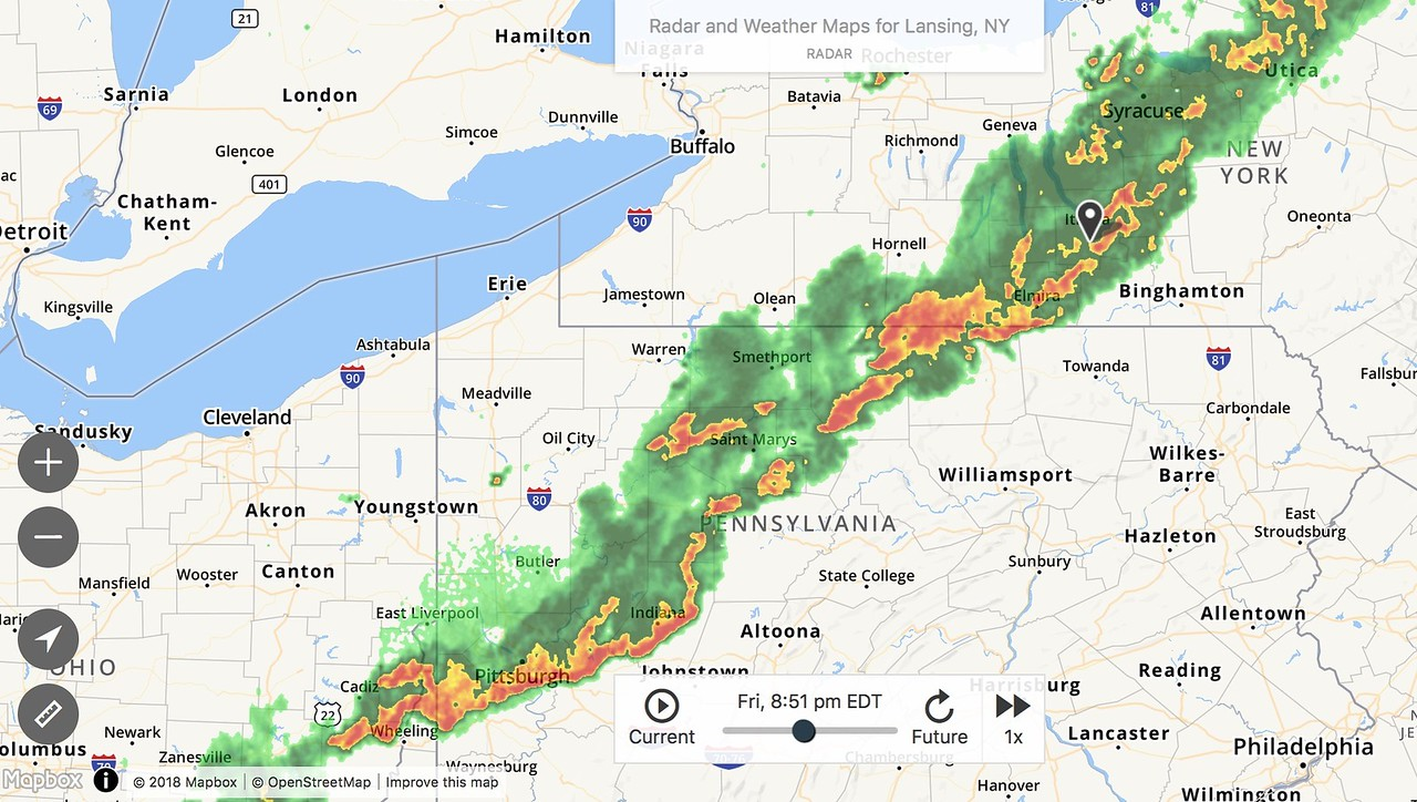 That is a pretty organized front…