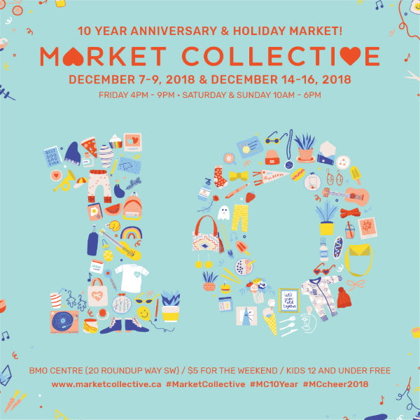 We are excited to be a part of Market Collective's 10 year Anniversary Holiday Market over both weekends. We'll be featuring simple  zero waste swaps  (from disposable, limited-use items, to reusable, lasting ones) and opportunities to learn about low impact living. See you there!
