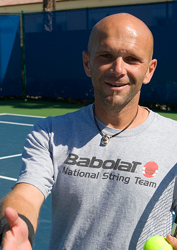 Jean-Luc Fontanot - Born close to the border of Switzerland in Grenoble, France, Jean-Luc Fontanot started playing tennis at an early age. After years of playing the sport in his home country and working with the French Tennis Federation, Fontanot decided to pursue a career in the sport he loved. Because of strict French standards to become a coach, Fontanot first studied business and then specialized in tennis and fitness.With this expertise, he began working with the ATP World Tour and relocated to the Lighthouse Point area of South Florida where he now lives with his son Lleyton. From here, Fontanot worked with German Sportsman of the Year recipient, Benjamin Becker, helping Becker make the ATP's biggest leap in ranking, taking him from an unranked player to number 70 in just one year. The duo also had quite a bit of success when, under Fontanot's guidance, Becker was able to defeat Andre Agassi in Agassi's retirement match in the 2006 US Open.