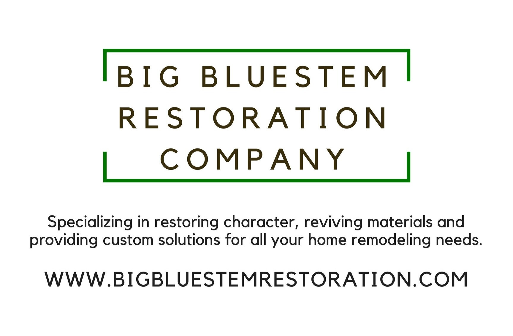 BB Restoration Company Website - FacebookInstagram