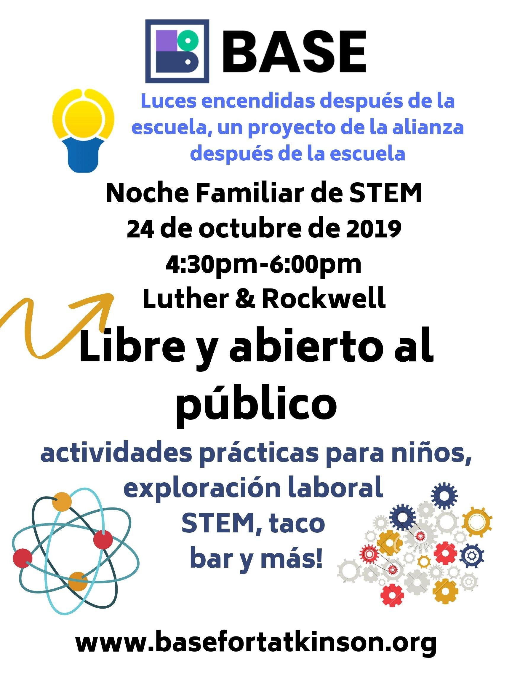 Family STEM Night flier Spanish.jpg