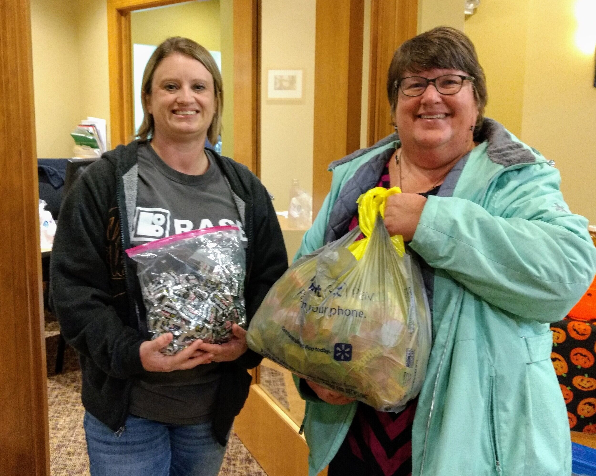 - Ms Melissa and Ms Beth delivered the candy that was collected to Rock River Dental on Monday, November 4th, 2019