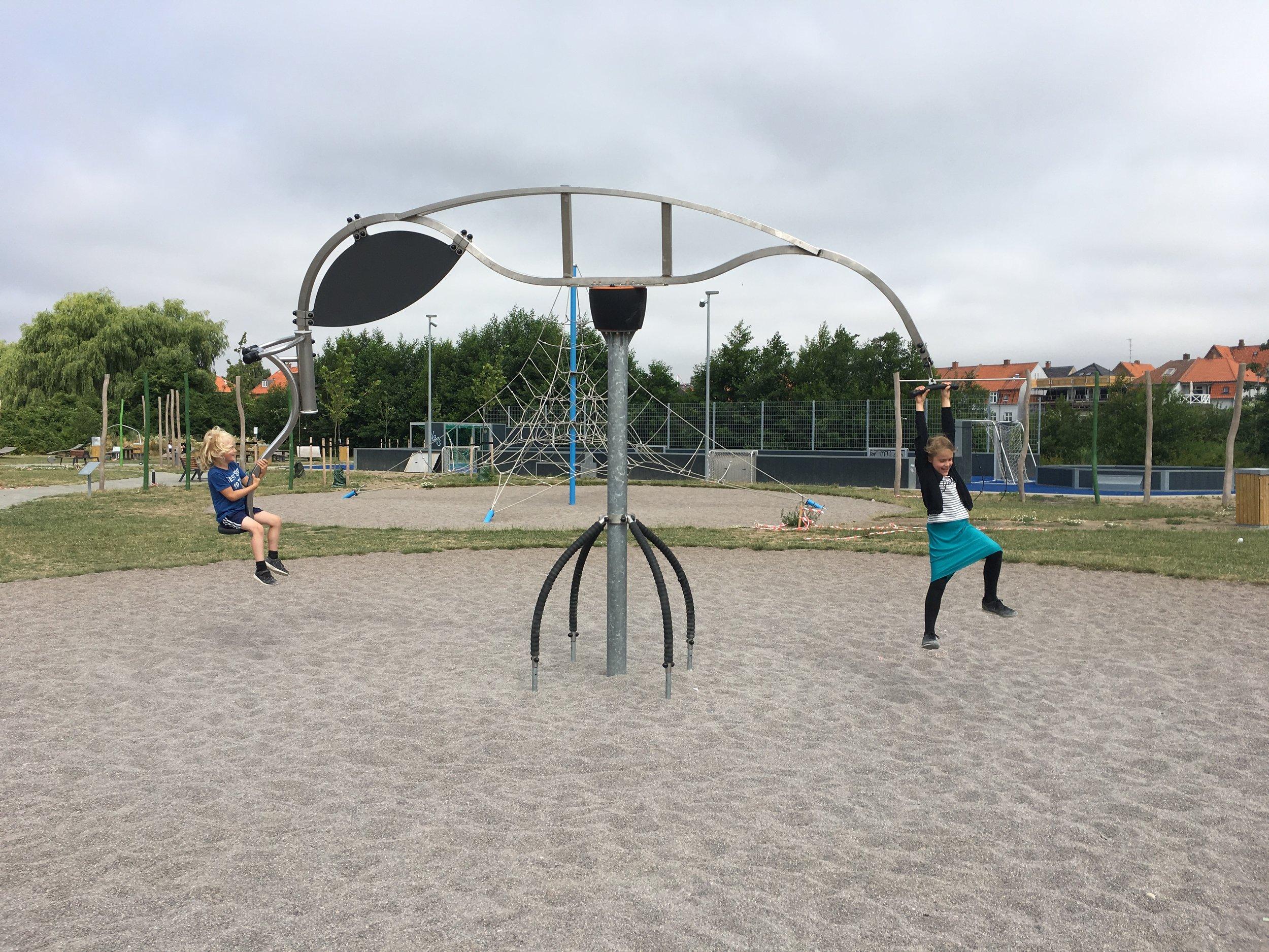 Fremragende mega-legeplads for alle aldre i Nykøbing F.