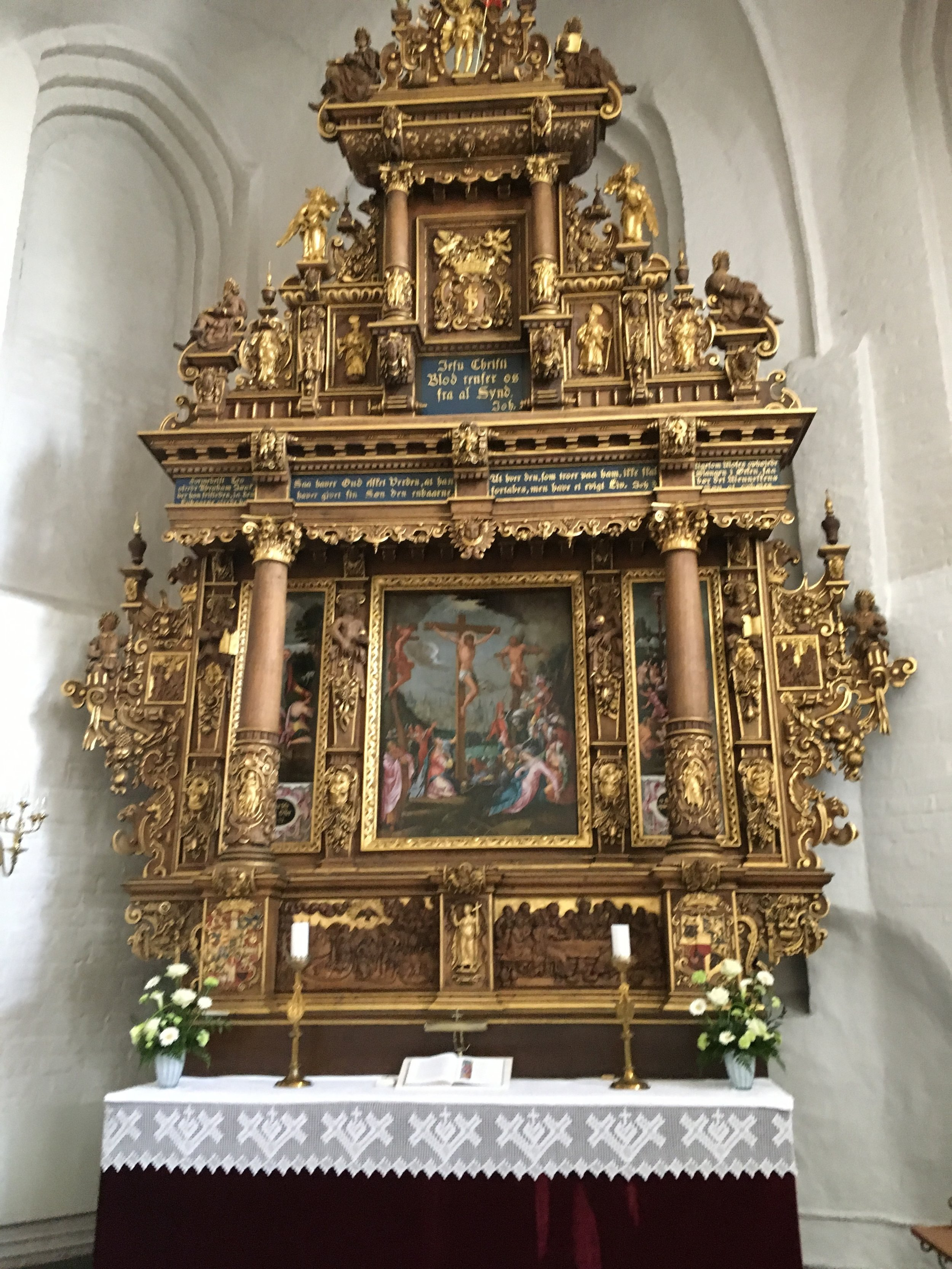 Altertavlen i Klosterkirken, Nykøbing F