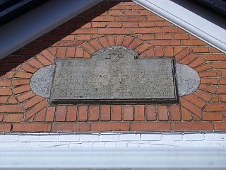 Den gamle ryttersten, som stammer fra en tidl Rytterskole, der lå i Maglebrænde