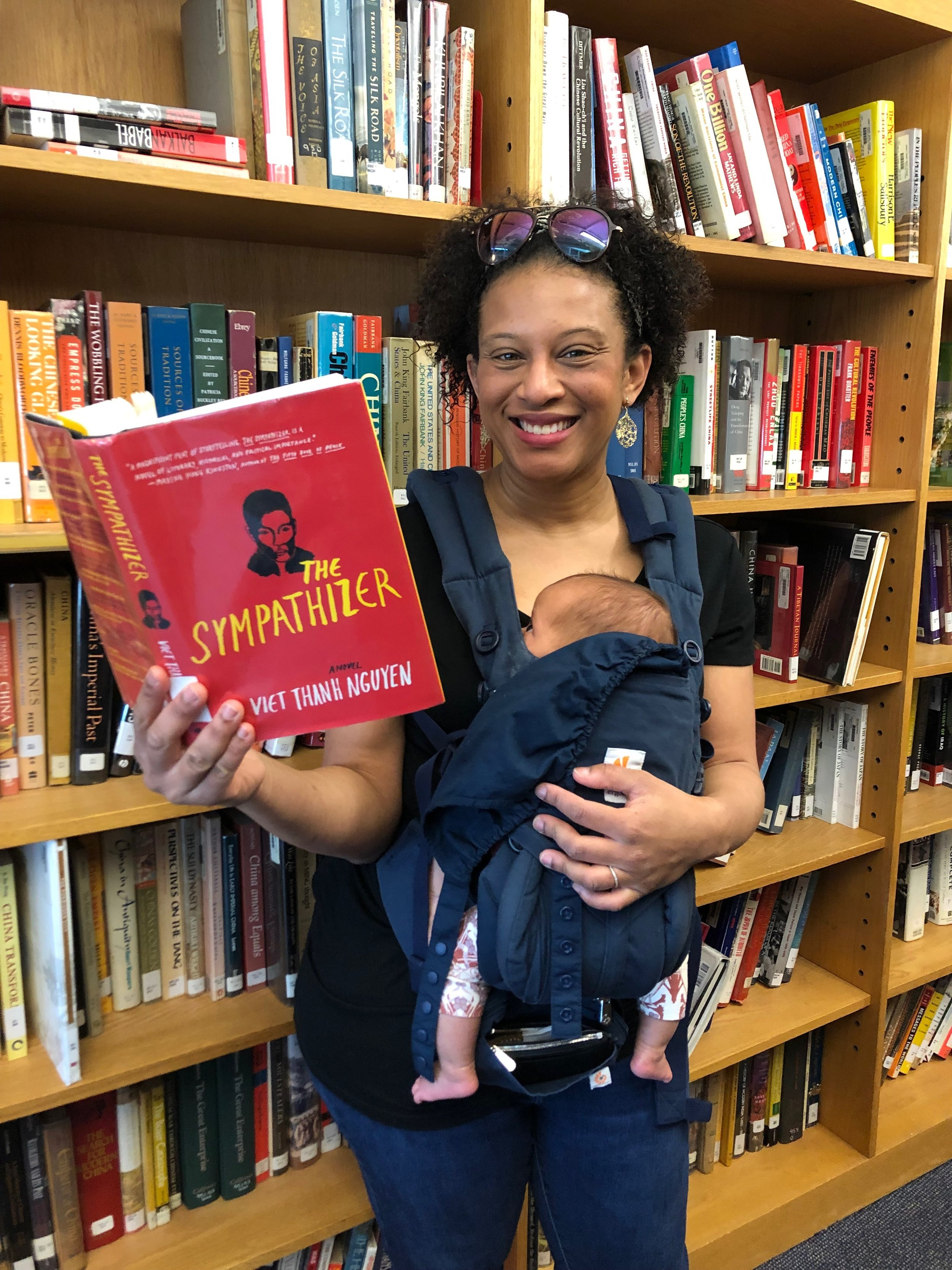 Bite-Sized Book Club - A comforting community for new parents where the reading is short and the conversation joyfully disjointed.