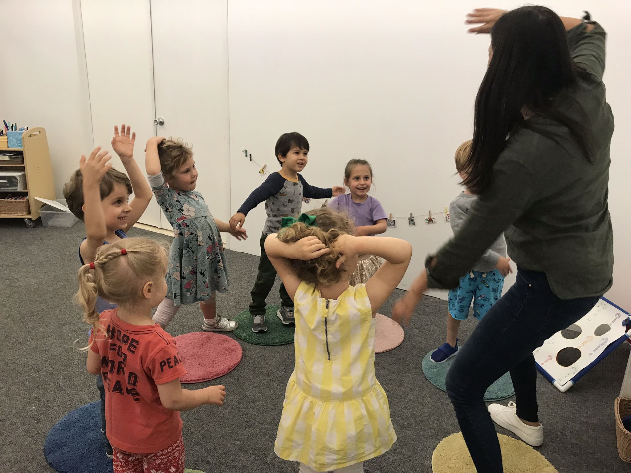 Books Before Screens - A joyful pre-literacy workshop where children and teachers bring stories to life through multi-sensory play and uniquely designed educational materials.