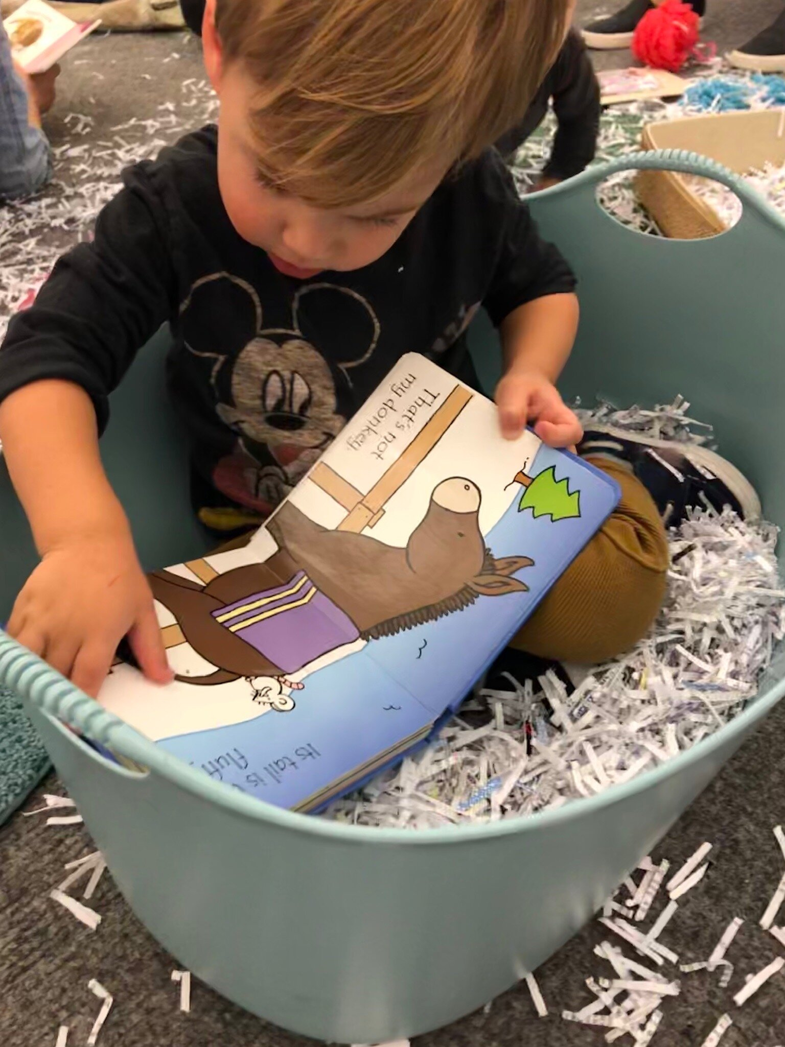 Books & Babes - The littlest book club for babies and caregivers to learn about play together.