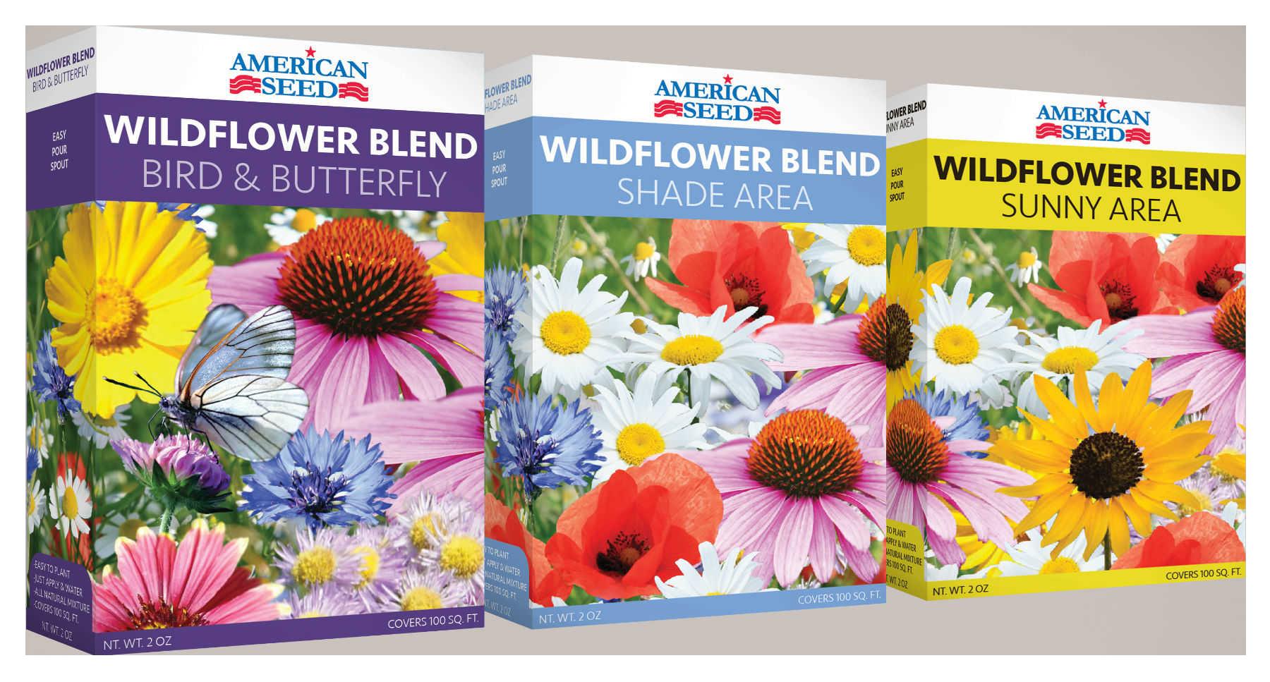 American Seed Wildflowers