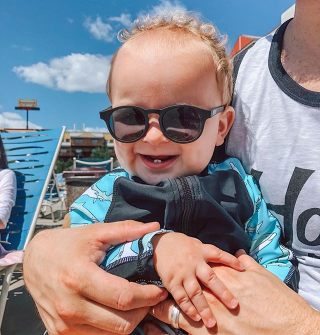 Vacay vibes in his stunna shades 😎  http://liketk.it/2E2zp #liketkit #LTKbaby #LTKkids #LTKfamily @liketoknow.it @liketoknow.it.family