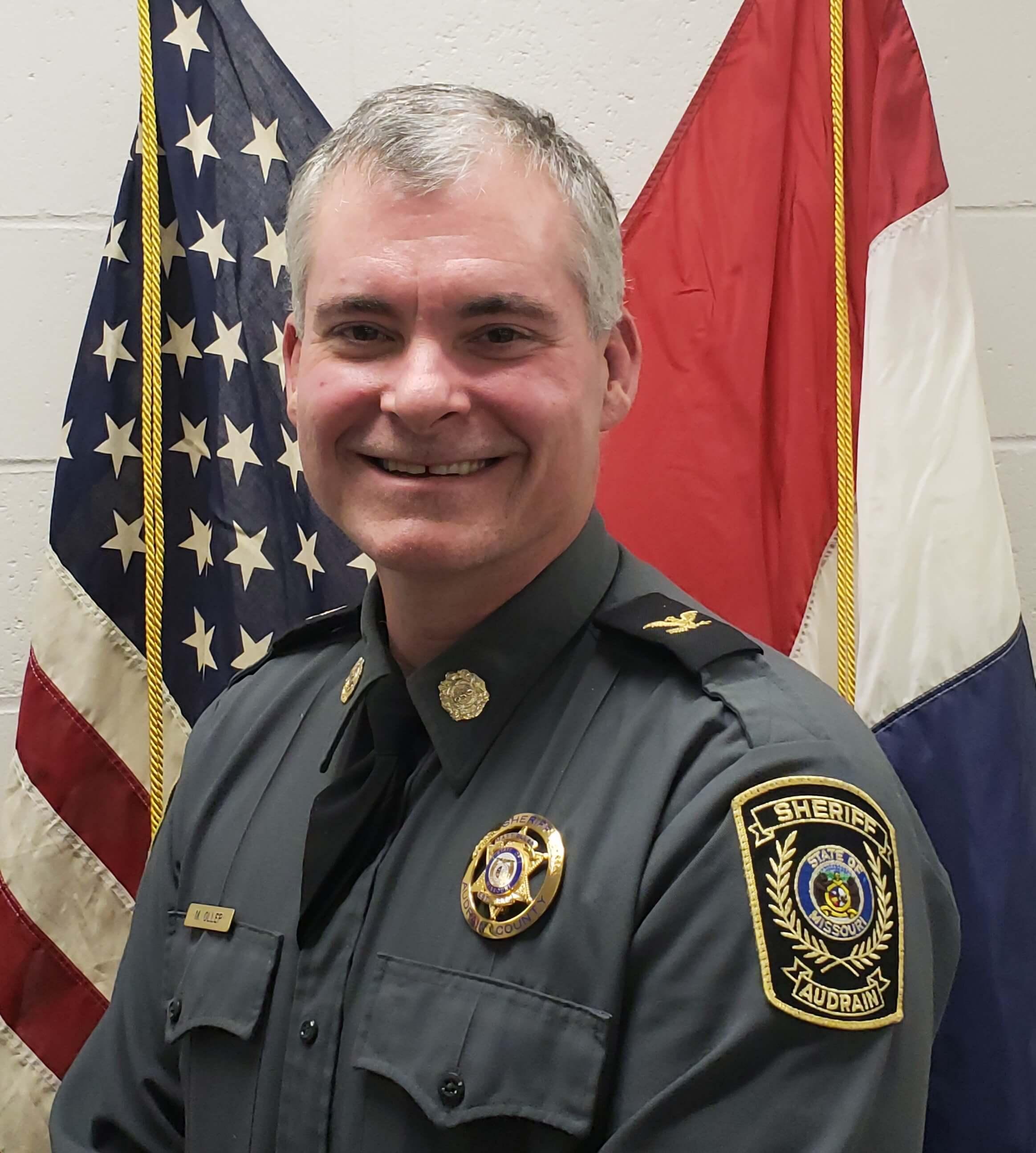 Matt Oller, Audrain county sheriff