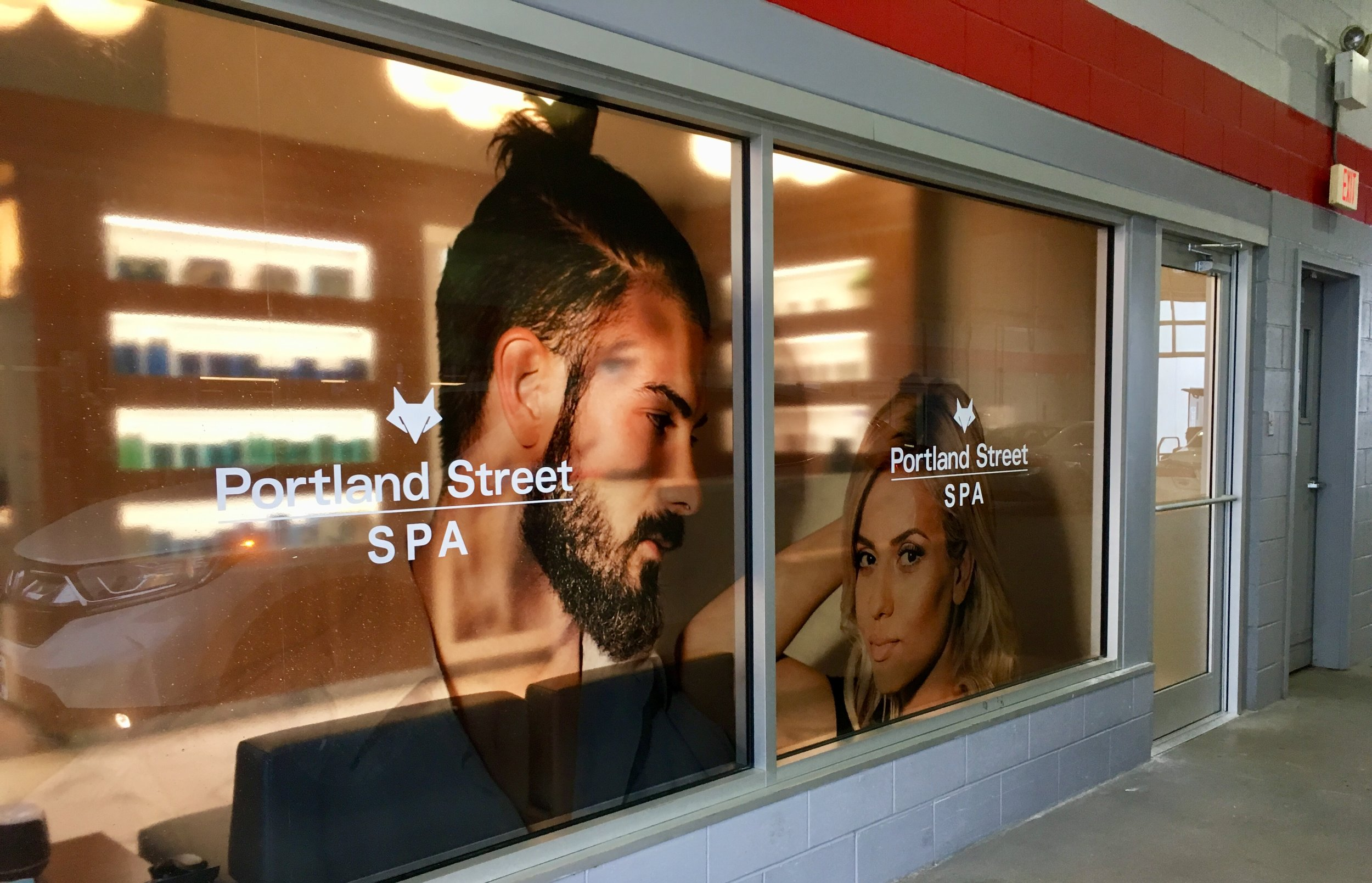 Portland Street Spa Entrance at Portland Street Honda in Dartmouth Nova Scotia