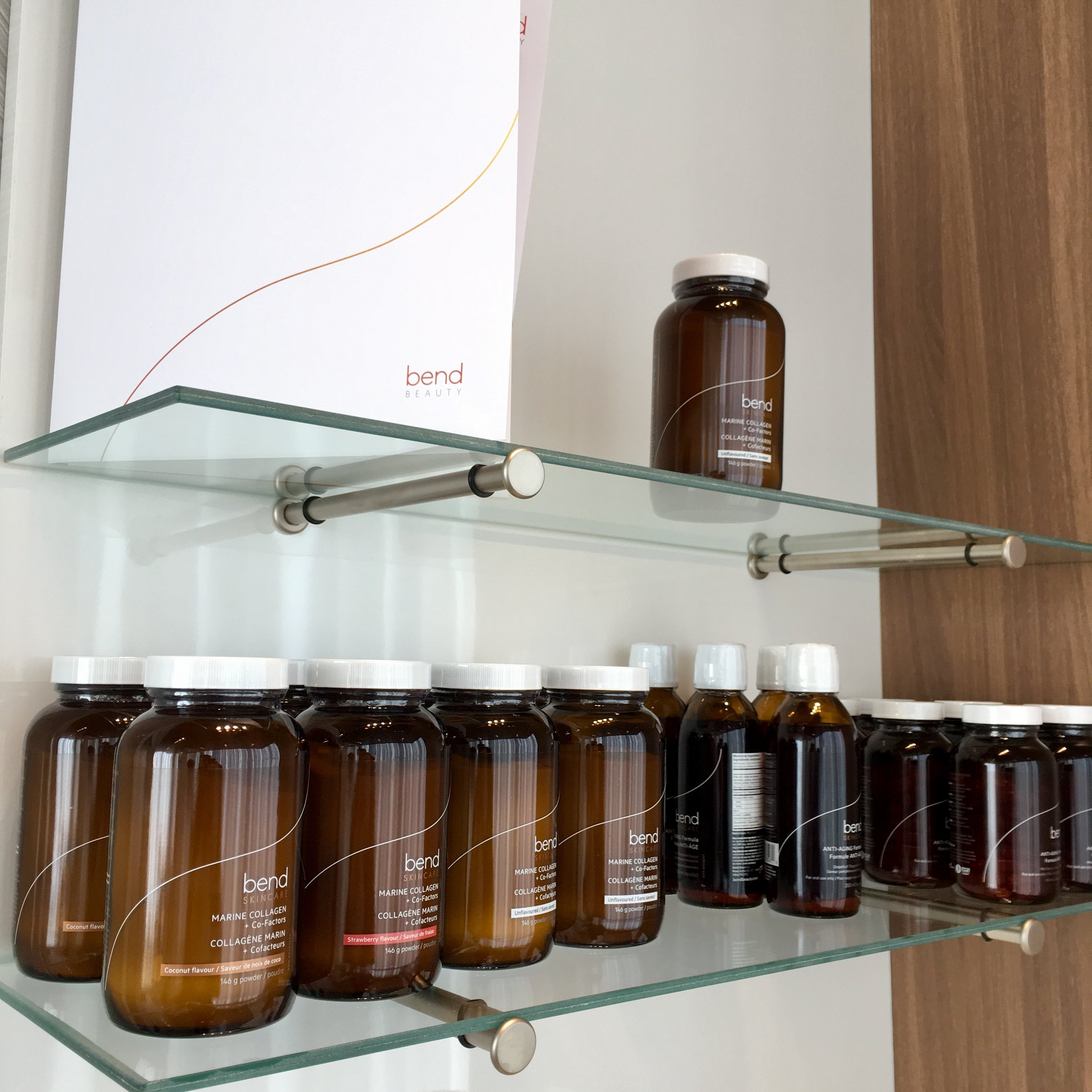 Bend Skincare Product Line at Portland Street Spa