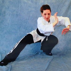 """Jessica Reilly  joined Modern Warrior in 2001, and rose through the ranks to earn her black belt in 2011. She became an assistant instructor in 2002 and began leading Modern Warrior 4 Hour  Rape Prevention  classes in 2006. The next year, she began leading Female Self Defense courses.  Jessie has consistently served as a positive role model for the school, and the art, and currently teaches the B and D groups in the  Bo Fung Do  weekly martial arts program.  One of her favorite quotes is by Mary Anne Radmacher: """" Courage  doesn't always roar. Sometimes courage is the little voice at the end of the day that says, I'll try again tomorrow."""""""