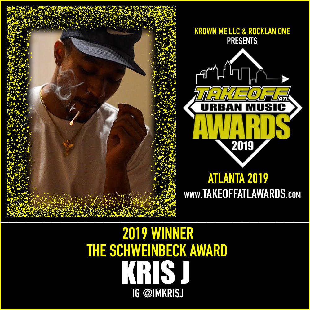 2019 WINNER - THE SCHWEINBECK AWARD - KRIS J