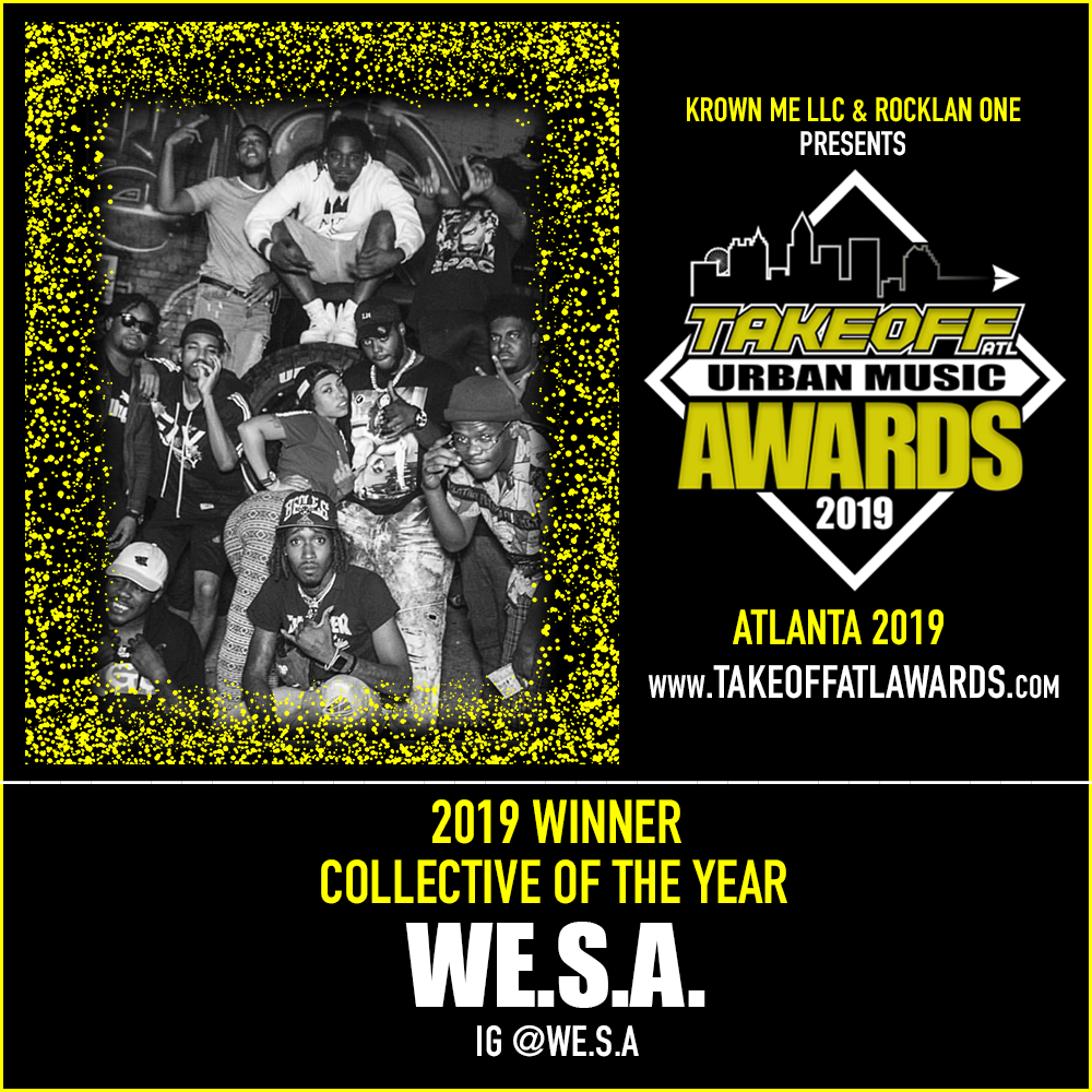 2019 WINNER - COLLECTIVE OF THE YEAR - WE.S.A.