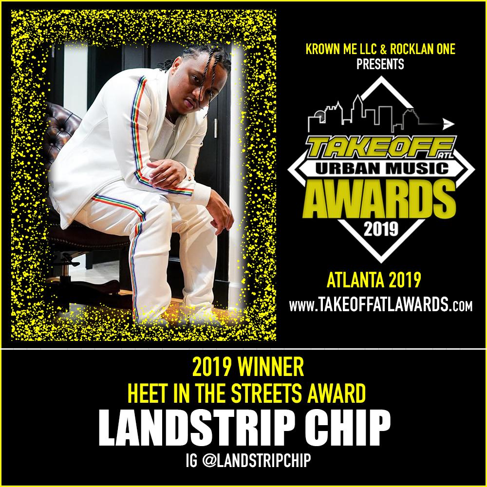 2019 WINNER - HEET IN THE STREETS AWARD - LANDSTRIP CHIP