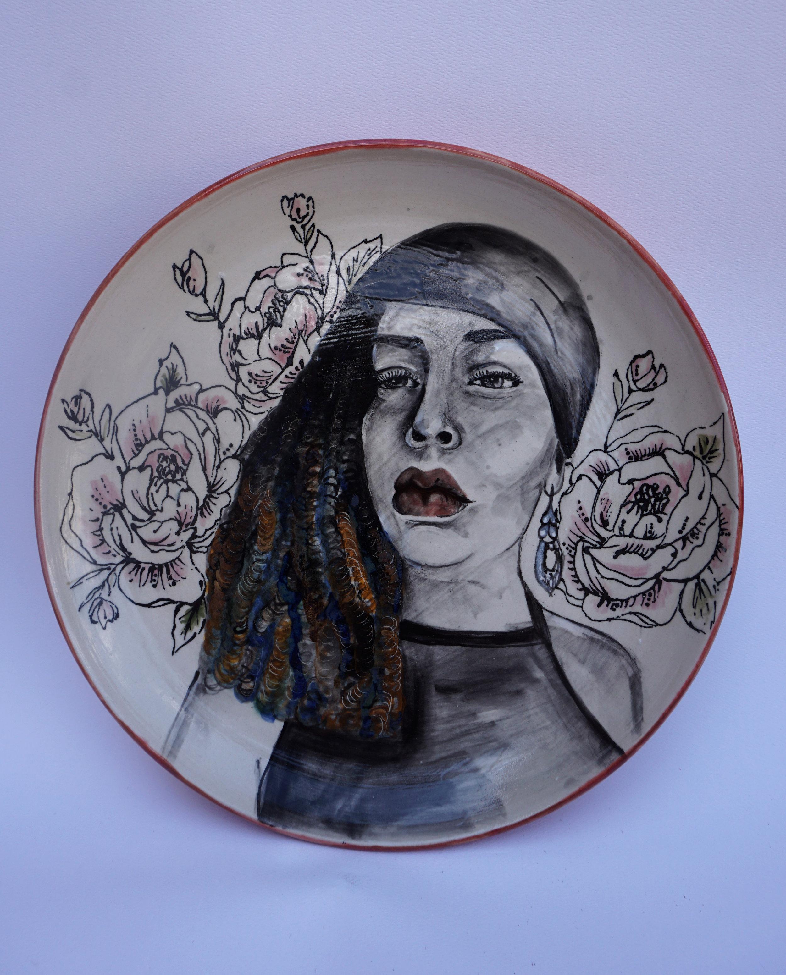 _Warrior__porcelain plate.jpg