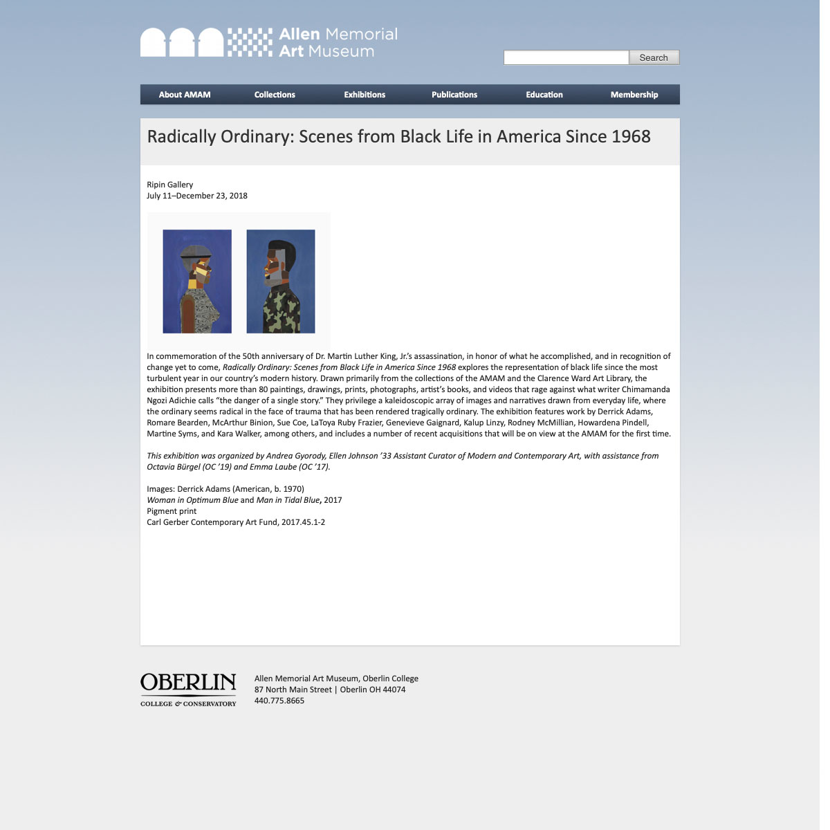 2018-07-11_Allen Memorial Art Museum (Oberlin College), Radically Ordinary_ Scenes from Black Life in America Since 1968, 2018.jpg