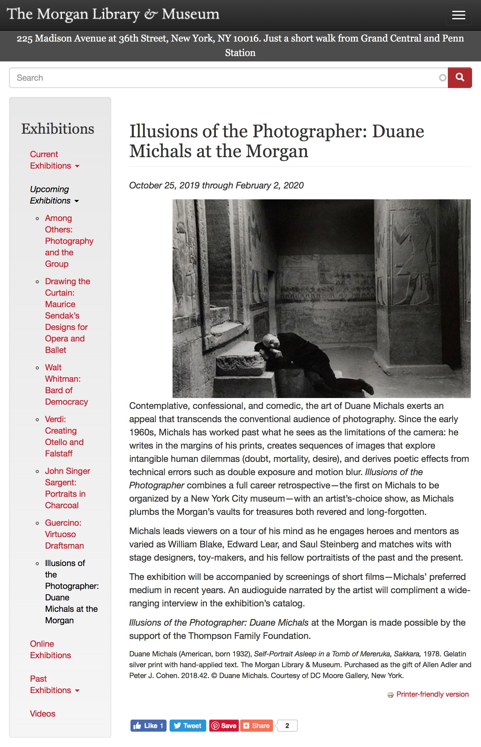 Illusions of the Photographer- Duane Michals at the Morgan | The Morgan Library & Museum ().jpg