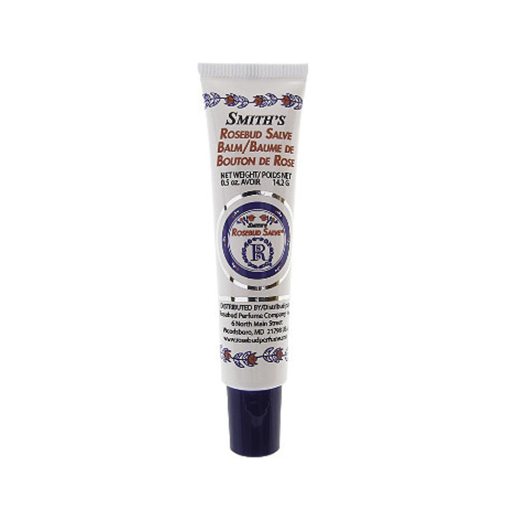Smith's Rosebud Salve Lipbalm - It's simply my favorite lip balm of all time. Once you try it, there's no going back.