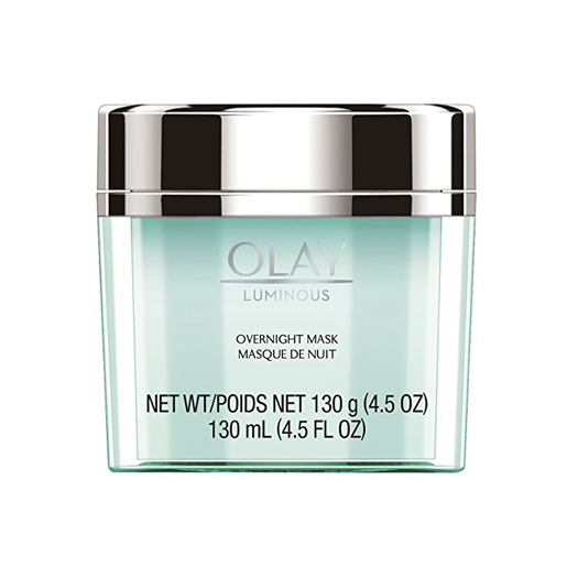 Olay Luminous Gel Mask - My skin LOVES this stuff. I use it every single night as my moisturizer on my face & neck. This is another product that when I forget to use it, I can definitely tell the next day.