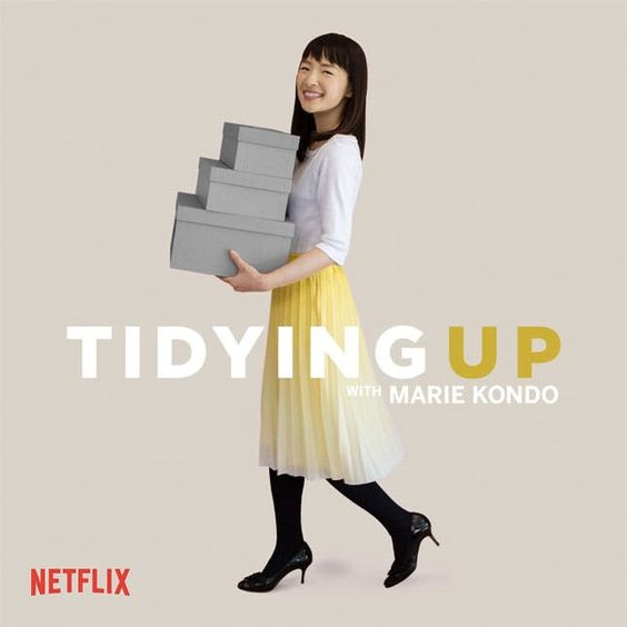 I really enjoyed watching  this series  on Netflix. I love Marie Kondo's philosophy on how to better appreciate your home & value what's in it. It's completely changed my perspective.