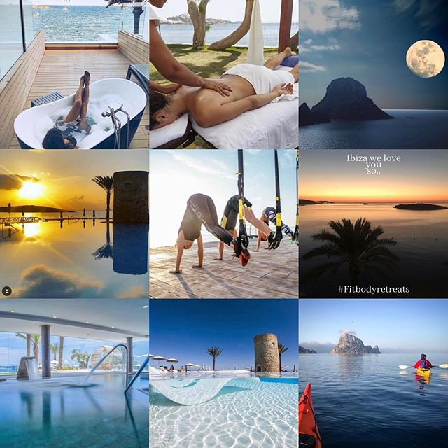 9 of our best from 2018! January sale on our up and coming Ibiza retreat! Use code FBR75 to get a £75 discount off our next retreat.. May 10th-13th! DM for details..