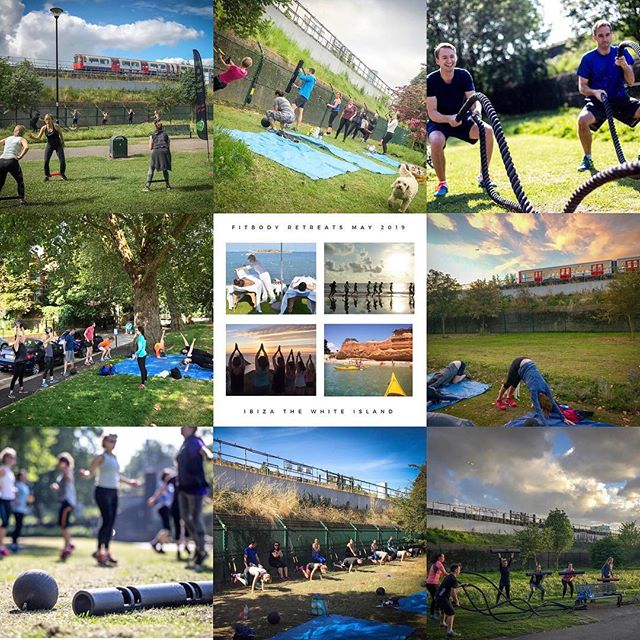 What a year 2018 was for our sister company Gym In The Park! Chiswick, Strand and Brook Green well done!! So much planned for this year.. New location in Maida Vale starting soon, Ibiza FitBody Retreat In May.. Also a few other surprises lined up! I have a feeling it's going to be a good year all round.. Sessions are fully up and running so let's back on it 😃💪🤸🏾‍♂️🙏 ❤️