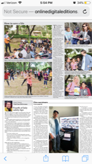 The Children's Lifesaving Foundation in the Malibu Times last week Summer 2019! Camp for all.PNG