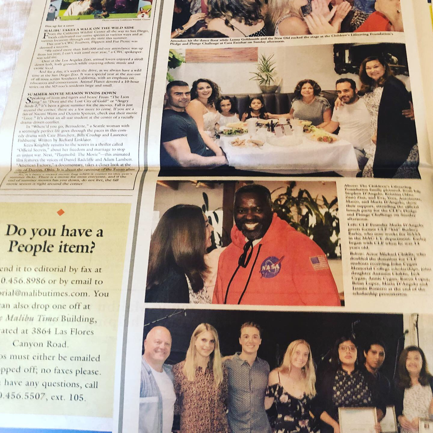 Malibu Times-August 18th 2019 Summer Bash article.JPG
