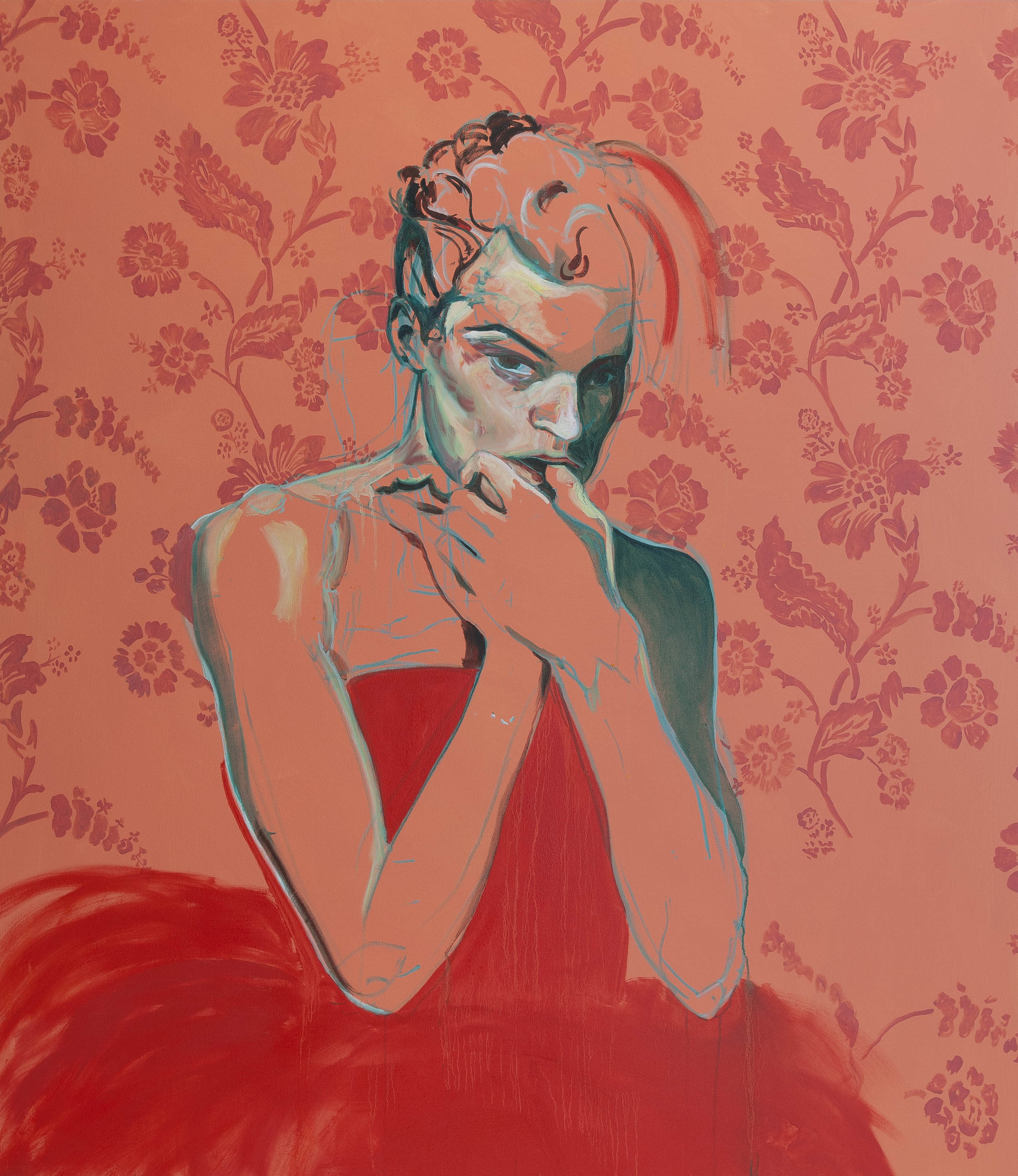 Coral Flair , 2013 Oil on linen, 150x120cm