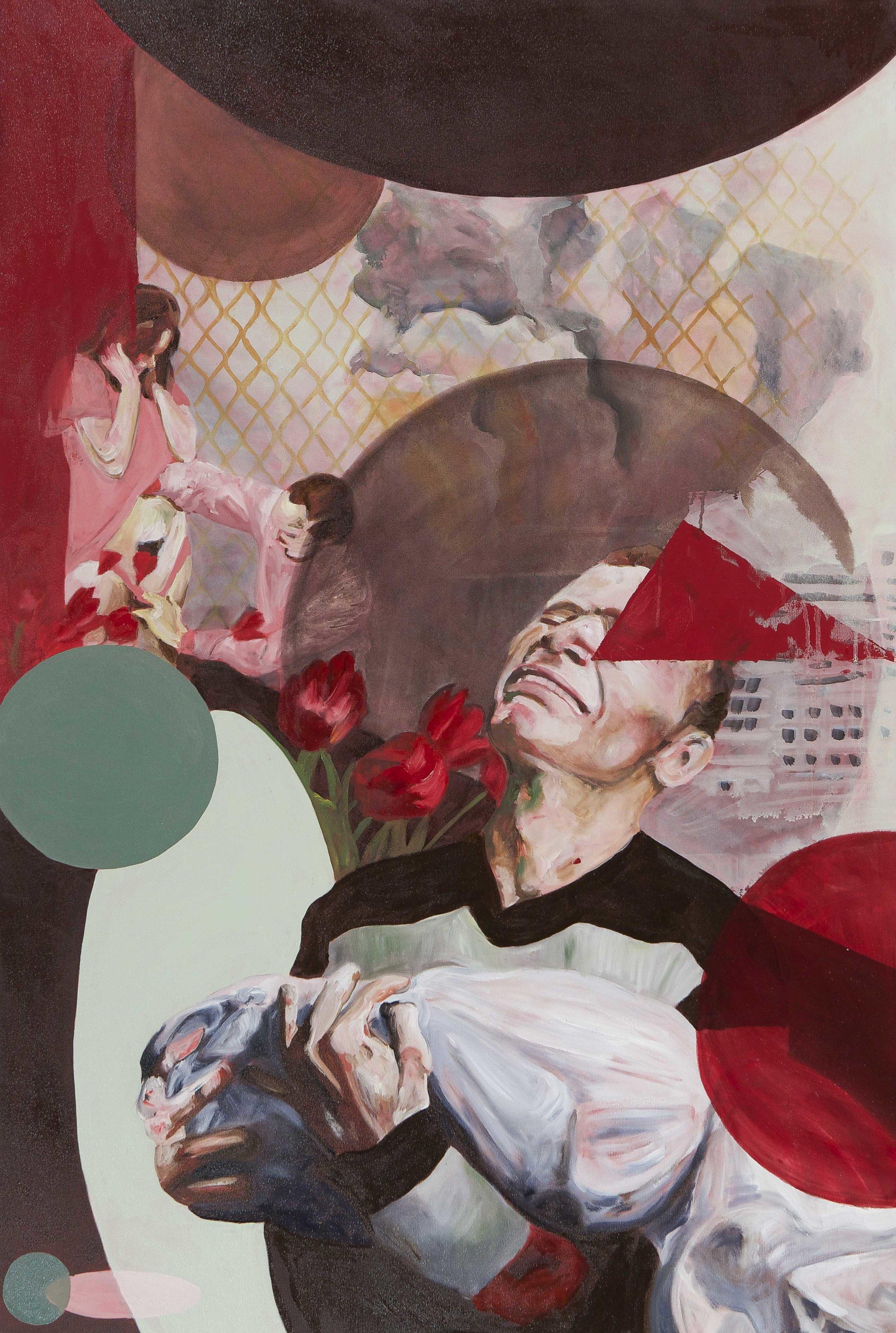 Untitled , 2013 Oil on linen, 150x100cm