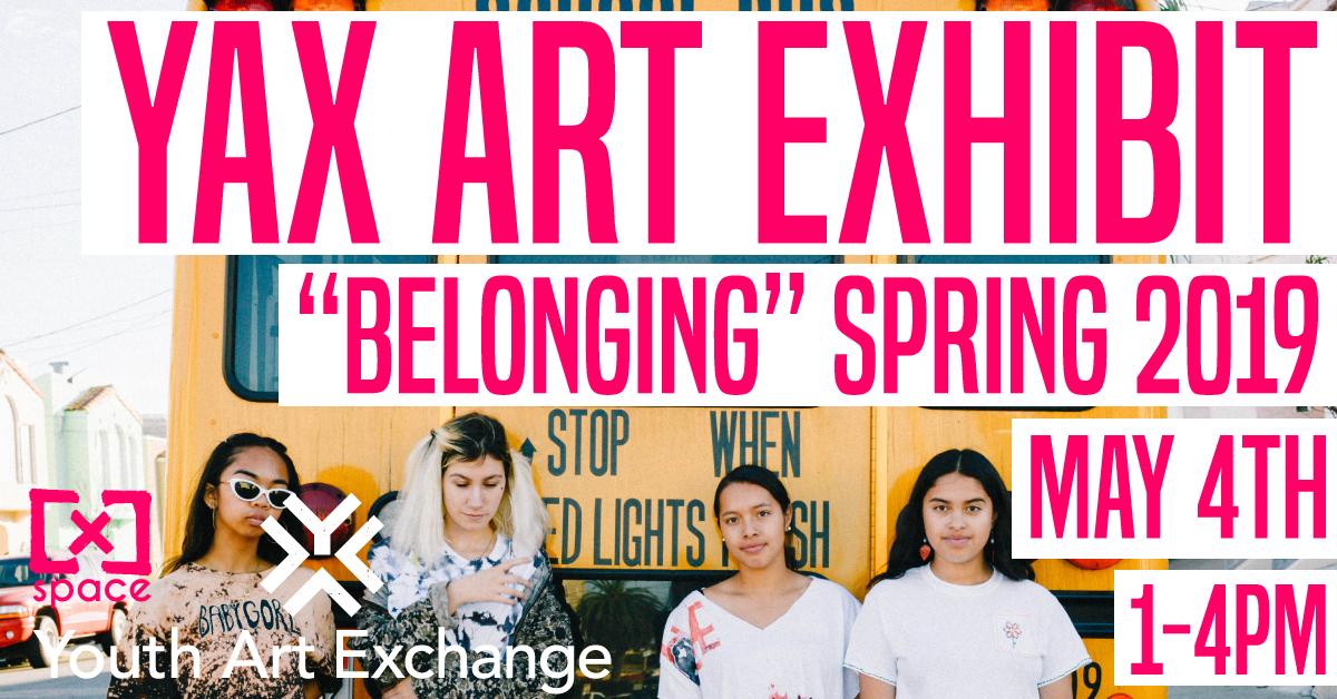 YAX Spring Exhibit 2019