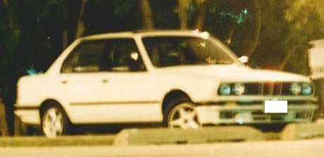 Type of car that was seen being driven by the murder.