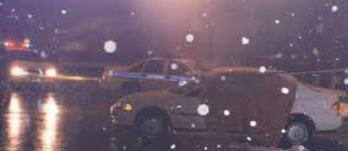 Photo of Jody's car after the shooting