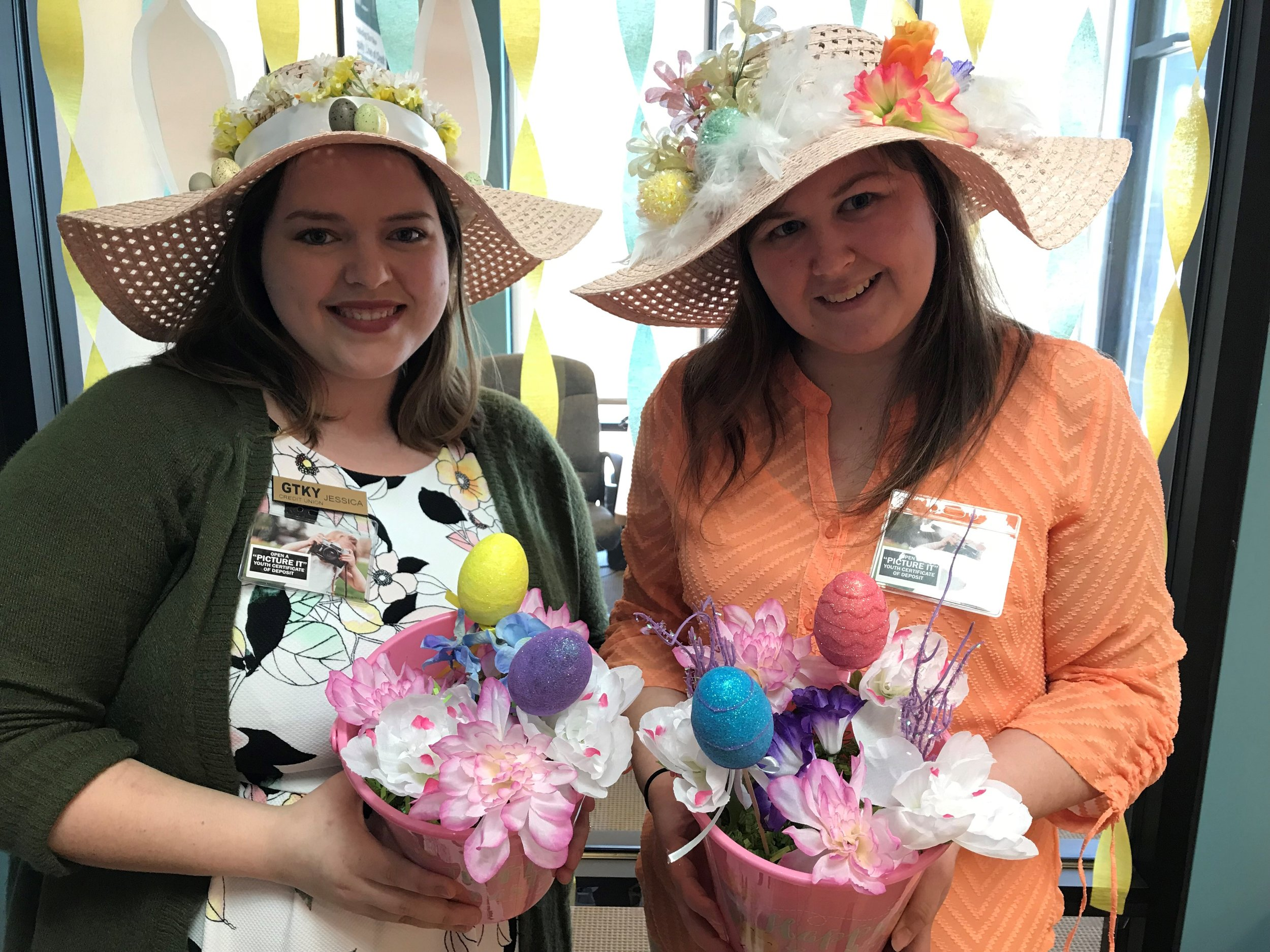 Versailles Staff Easter Hats